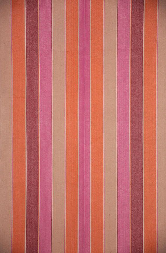 Designer Striped Fabric by recreateyour on Etsy