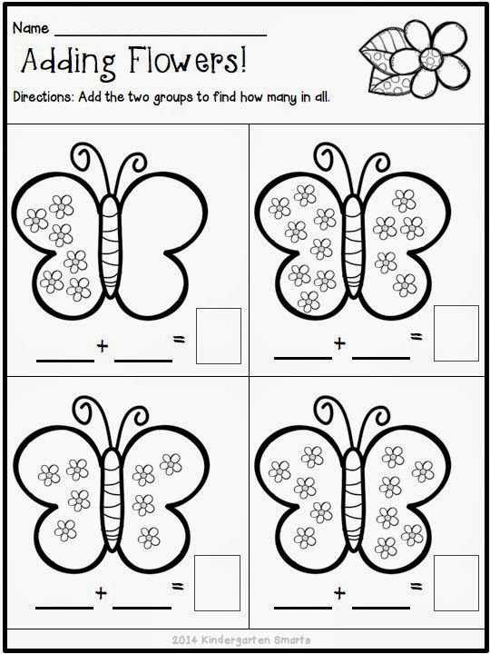 Spring Math and Literacy Centers plus a FREEBIE | Pinterest ...