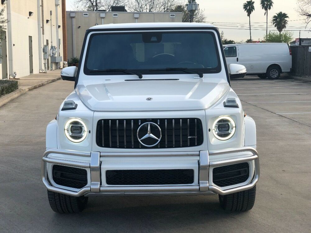 For Sale 2019 Mercedes Benz G Class G63 Amg 2019 G63 Amg White