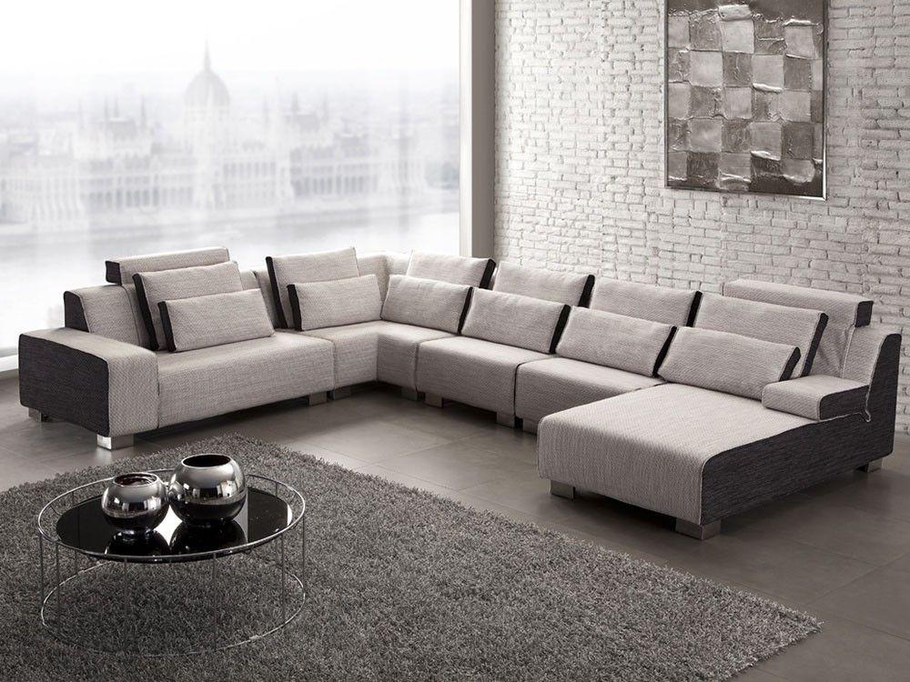 Canape D Angle Tissu Pura Canape Design Et Mobilier De Luxe