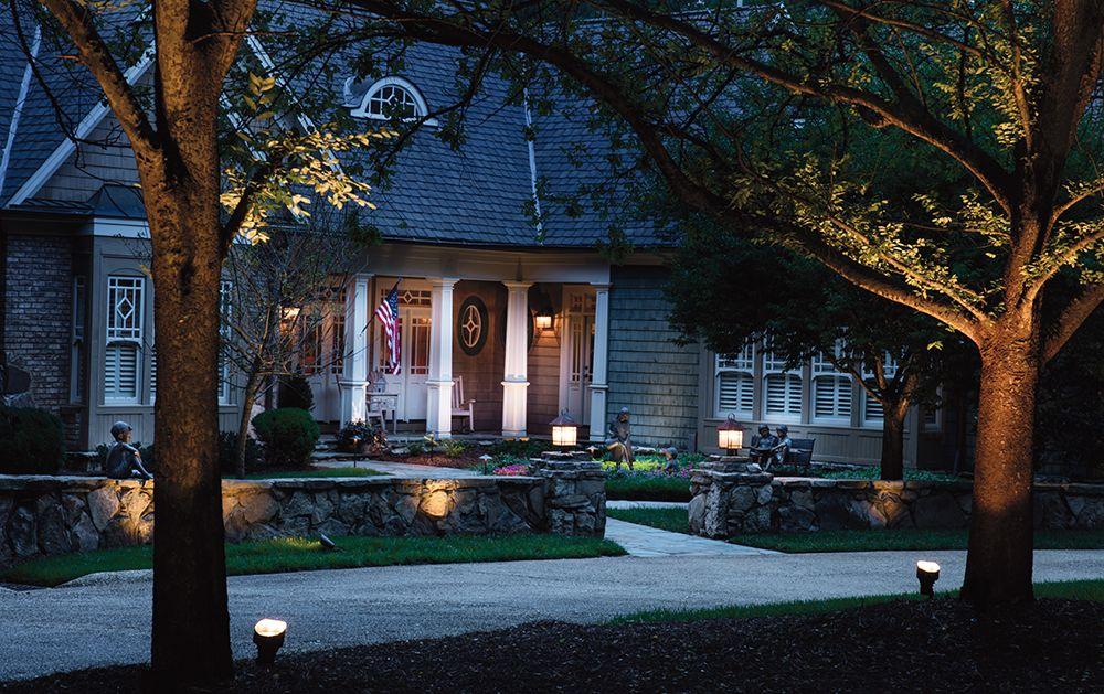 Inspired Home Lighting Kichler Accent Landscape