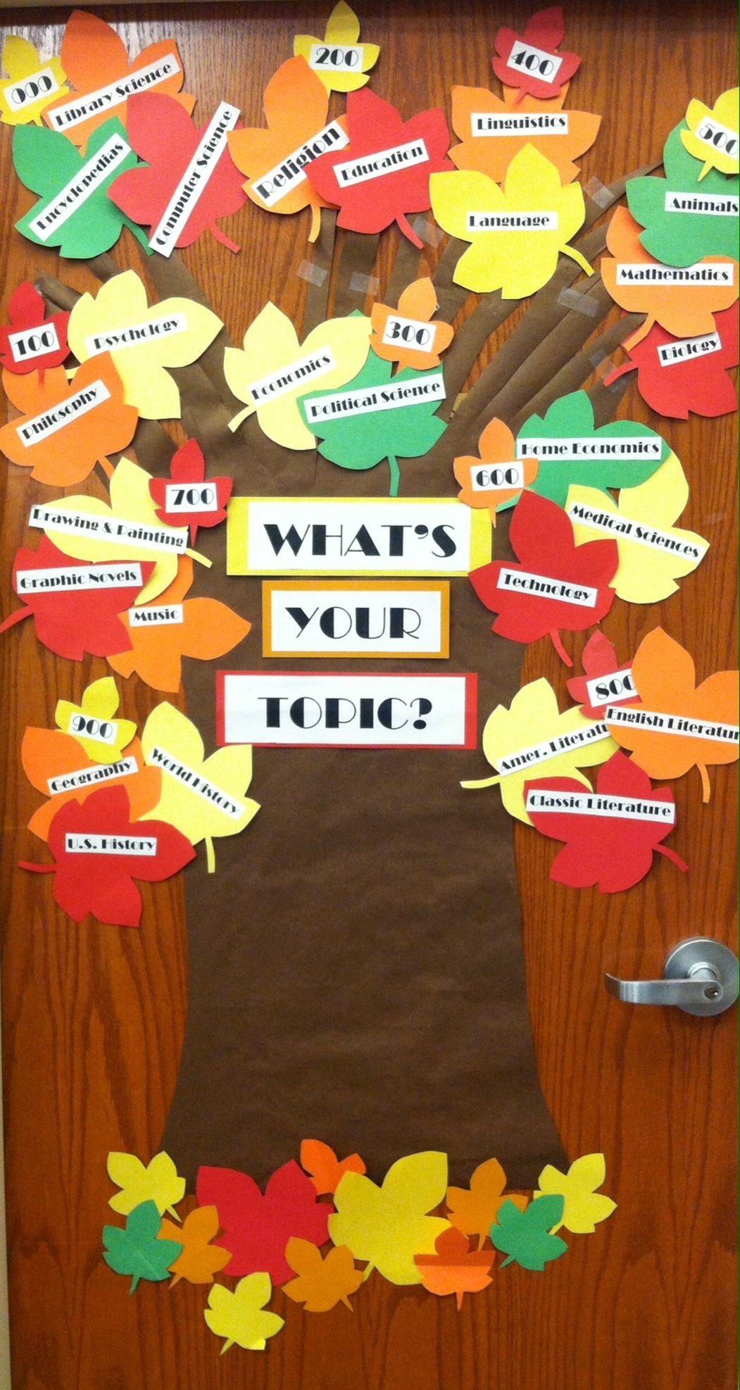 dewey decimal tree our boards displays pinterest library dewey decimal tree bulletin board