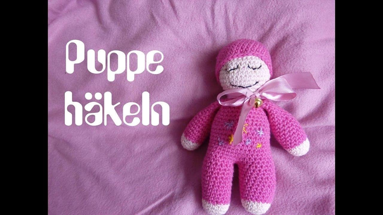 Baby Schmuse Puppe selber häkeln DIY Anleitung für Anfänger