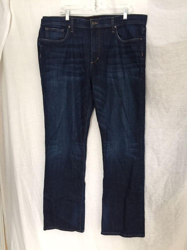 Joe's Mens The Rebel Dark Blue Broken In Stretch Cotton Denim Jeans 40 x 33.5 #JoesJeans #TheRebel