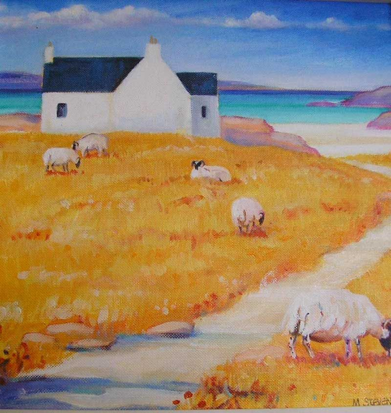 Scottish Art: Mary's Work Is Inspired By Many Of