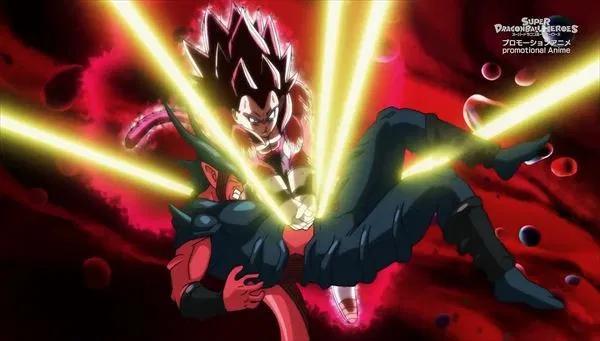 ドラゴンボールヒーローズのネタバレ 第6話の感想 2人の究極スーパーサイヤ人4の龍拳爆発 ドラゴンボールのネタ スーパーサイヤ人 ドラゴンボール 感想