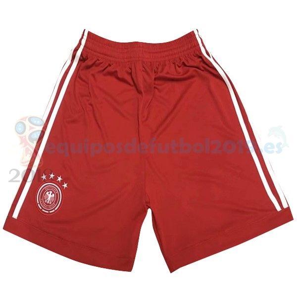 Futbol Originales Pantalones Portero Alemania 2018 Rojo €9