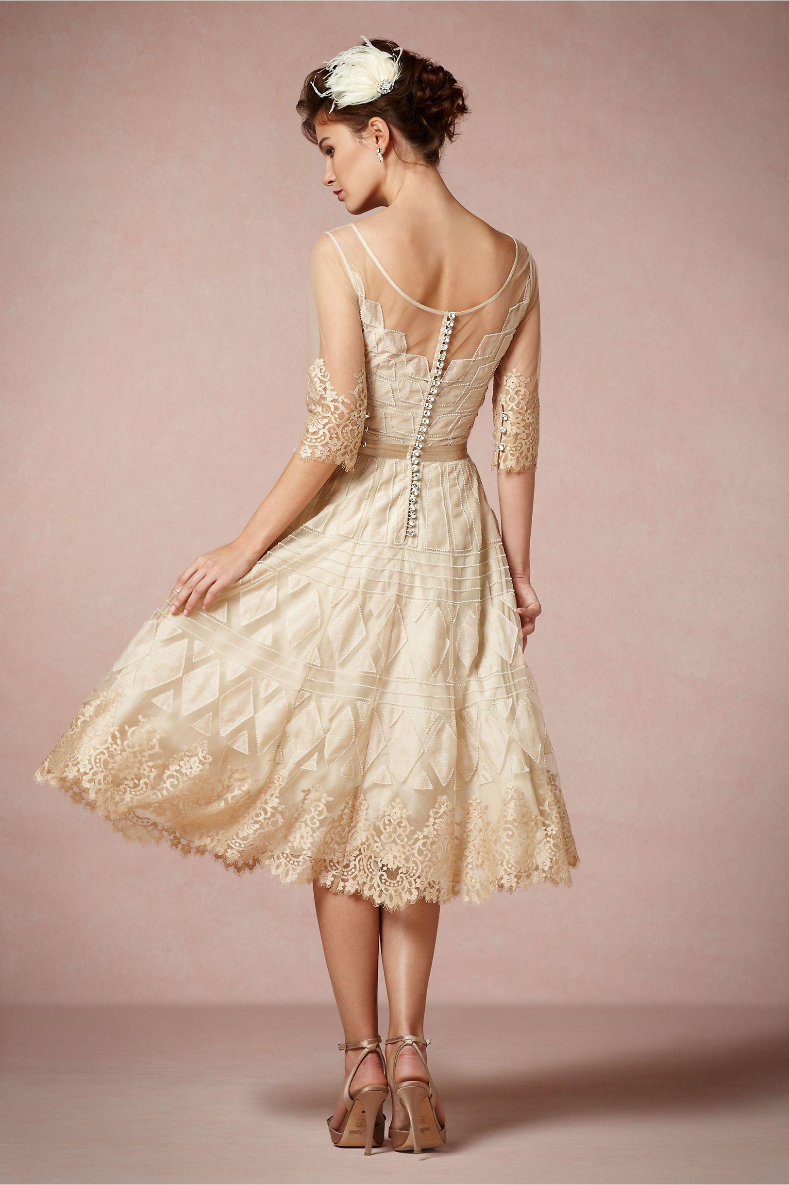 BHLDN Charm School Dress back | Gals | Pinterest | Vestidos novia ...