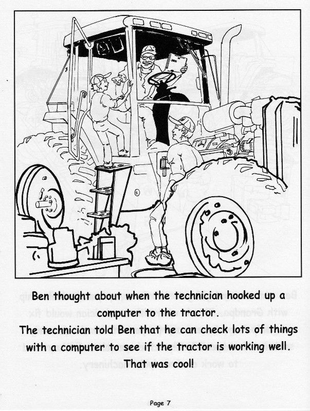 Grampa\'s Coloring Book...Page 7 | Illustrations and More Stuff ...