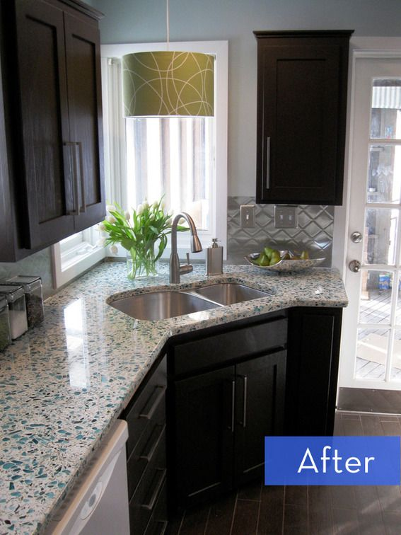 Before And After: A Budget Friendly Kitchen Makeover Credit: Shannon Petrie  ...