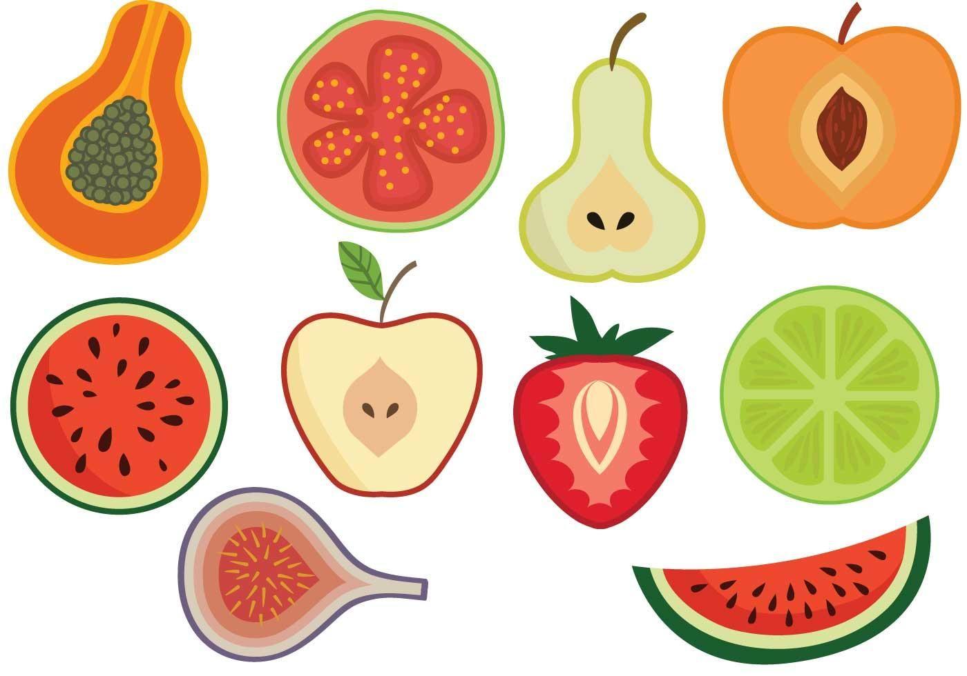 Vectores libres de la fruta Logomarca, Arte