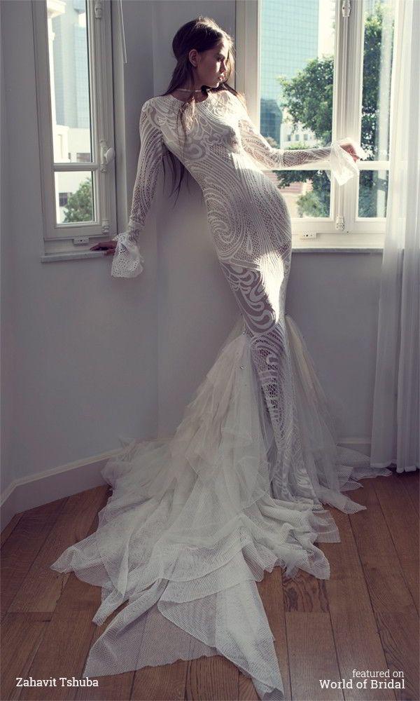 Zahavit Tshuba 2016 Wedding Dress