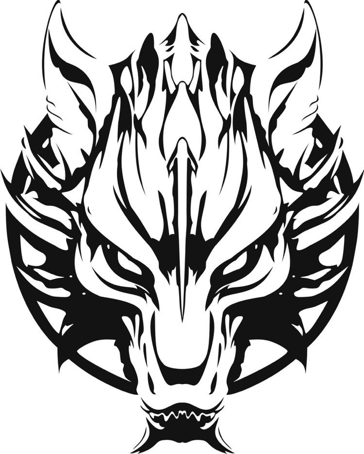 50 Viking Tattoo Ideas Nordic Symbols And Their Meaning Viking Tattoo Template Wolf Fenrir I In 2020 Wikinger Tattoo Wolf Tattoo Design Wikinger Tattoo Symbole