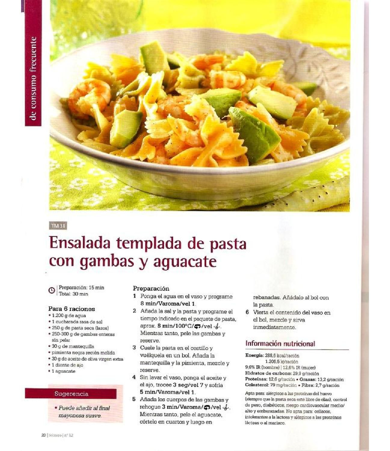 Revista thermomix n 52 cocina diaria simple y deliciosa for Cocina saludable en 30 minutos thermomix