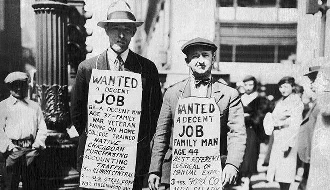 crisi america 1929 I want a job | History ◊ 1920s | Pinterest ...