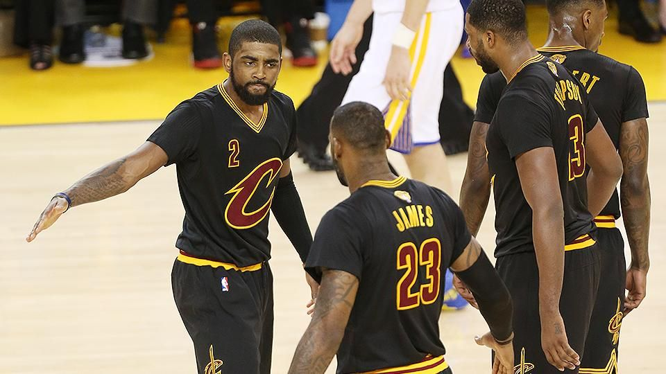 Sports Illustrated on Kyrie irving, Lebron james, Lebron