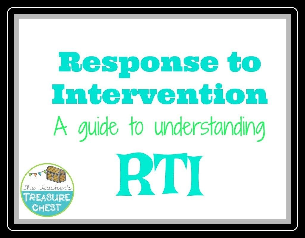 Understanding Response To Intervention A Guide For