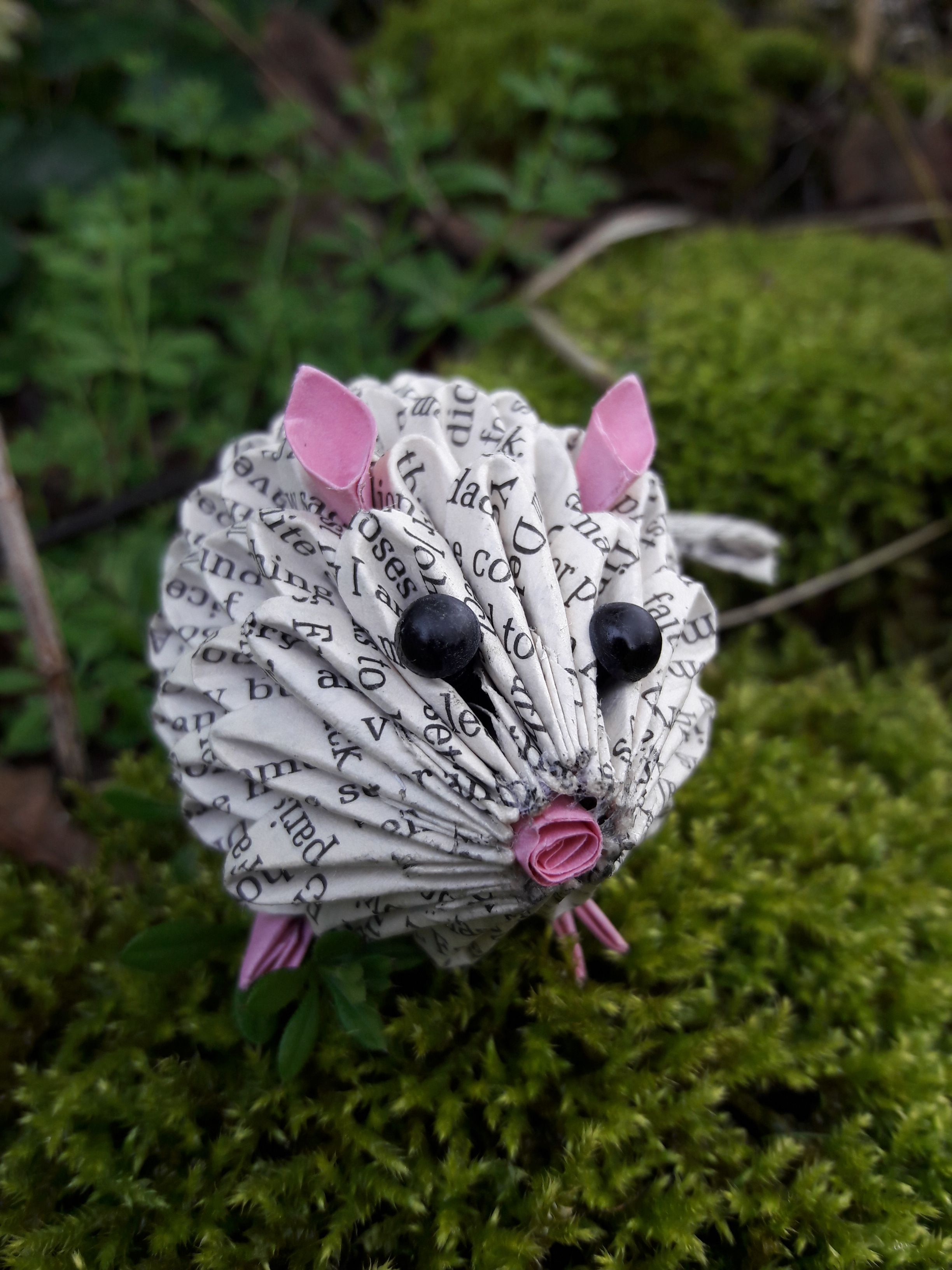 3d Origami Mouse