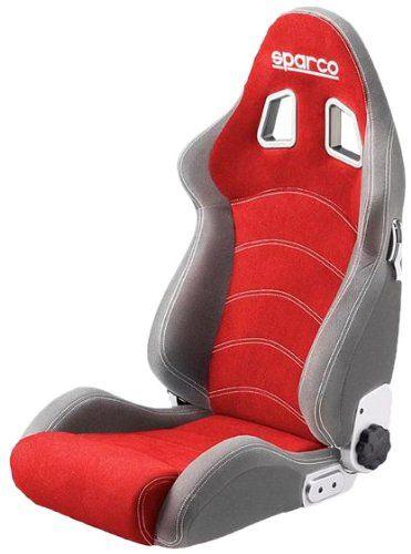 Astounding Sparco R505 Red Grey Seat Sparco Custom Car Interior Car Machost Co Dining Chair Design Ideas Machostcouk
