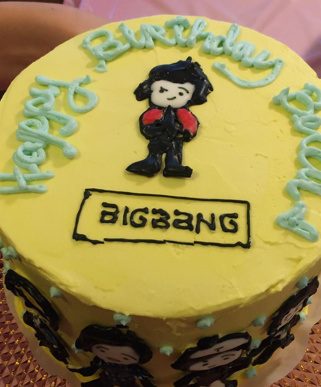 Bigbang Kpop Cake