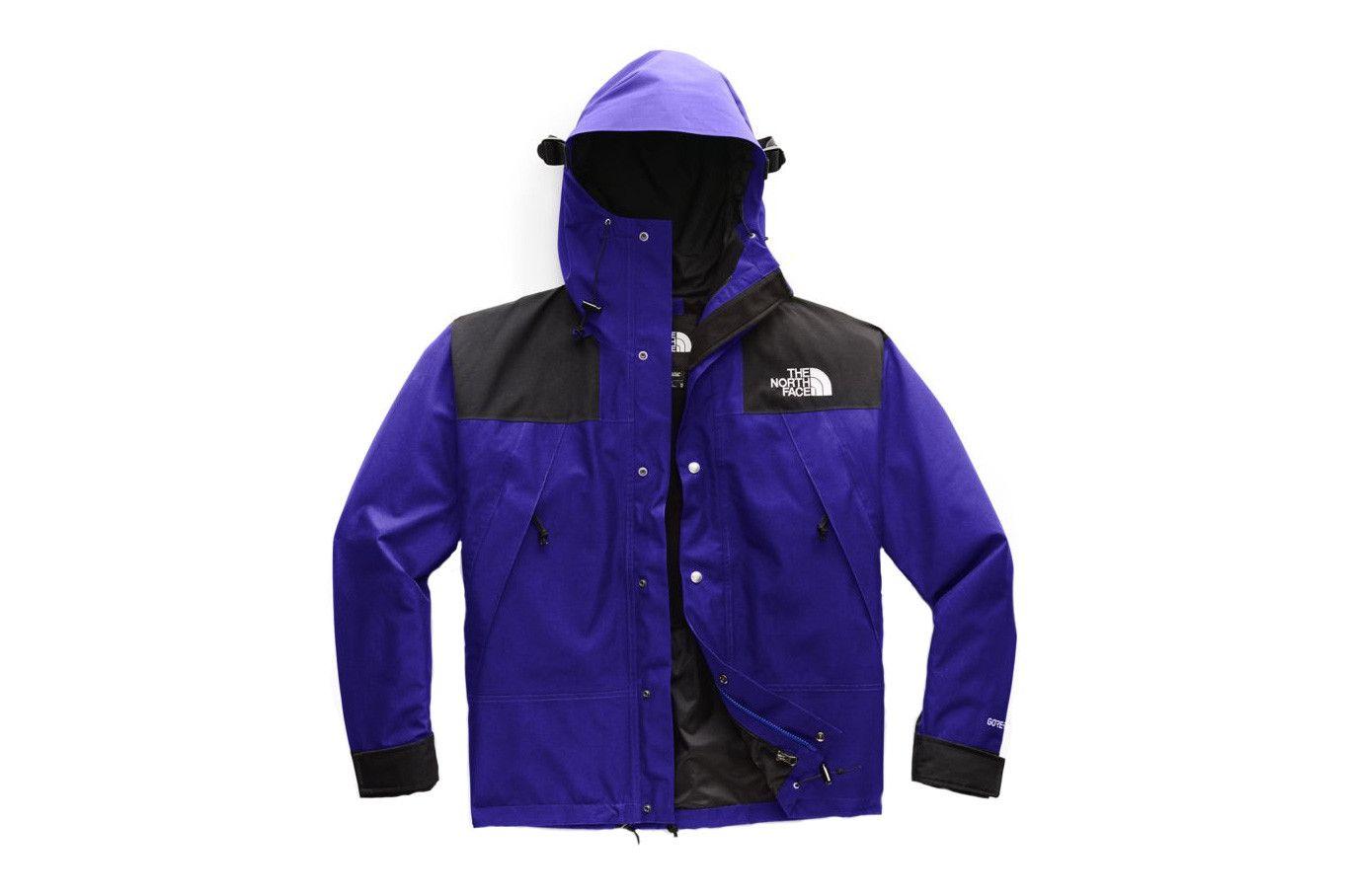The North Face Reveals Three Striking New 1990 Mountain Jacket Gtx Colorways Mountain Jacket North Face Mens Snowboard Jacket Mens [ 908 x 1362 Pixel ]