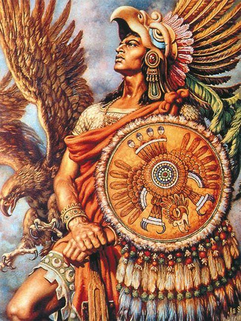"""""""Caballero águila"""", Jesús de la Helguera"""