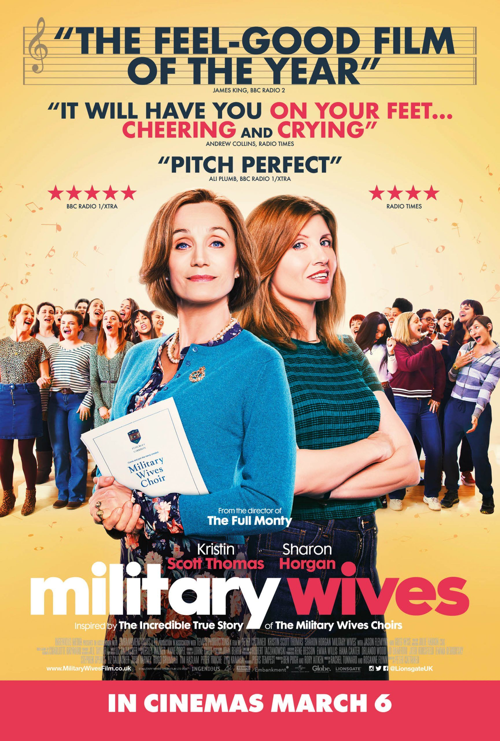 Military wives film review delightfully charming and