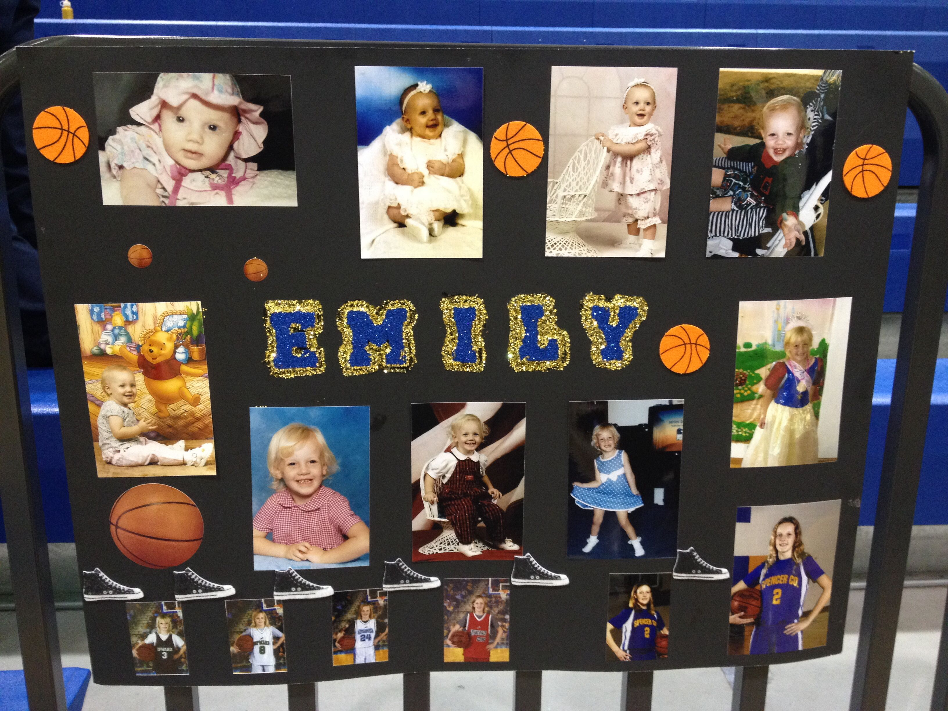 Eighth Grade Night Poster The Girls Wanted A Baby Picture Poster So Emily I Made This One I Decided To Put Her Ba Baby Pictures Diy Crochet Patterns Basket