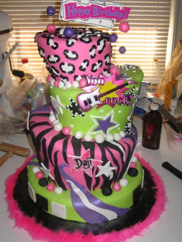 Dajis Rock Star Cake Cakes Pinterest Rock Star Cakes Star
