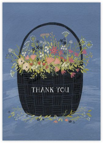 Flower Basket (Yelena Bryksenkova) - Paperless Post