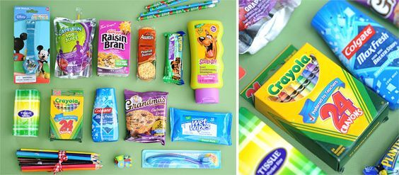 Blessing Bags For Kids Things To Donate To Shelters Etc Blessing Bags Operation Christmas Child Homeless Gifts