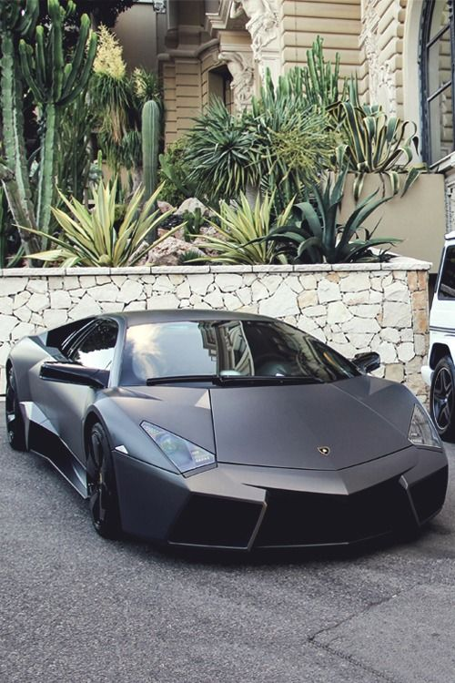 Matte Black Lamborghini Aventador Car Chaos Sports Cars