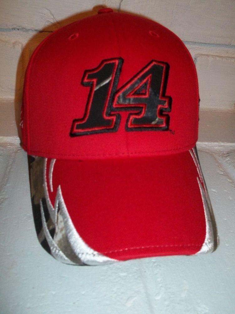 stewart haas tony stewART # 14 nascar baseball hat one size fits most #BaseballCap