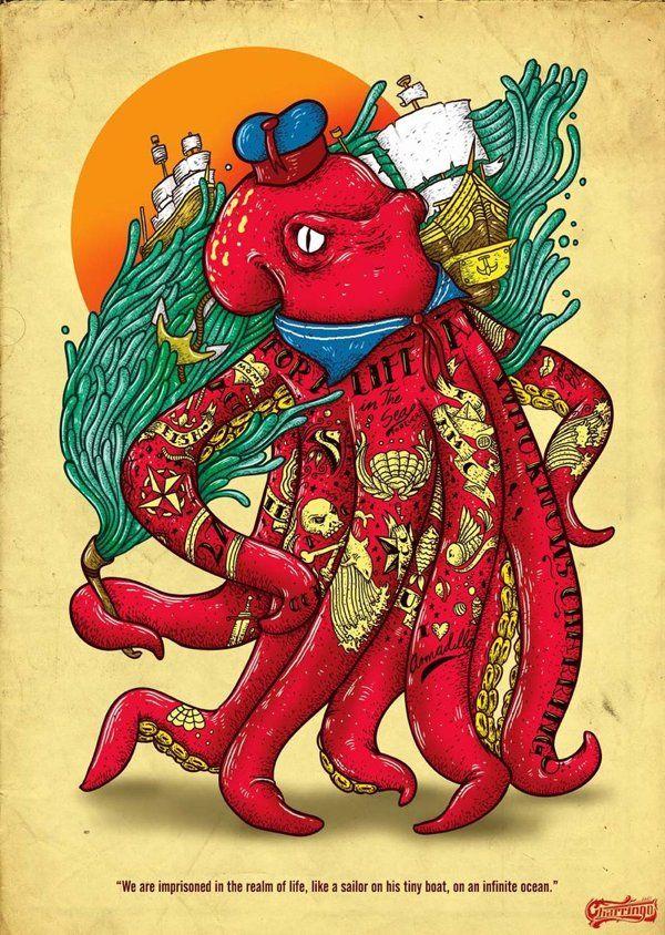 2011 Ilustrations By Marco Pichardo Via Behance Illustration Art Art Artsy