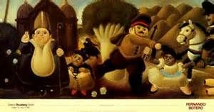 Title: Massacre of the Innocents Artist: Fernando Botero