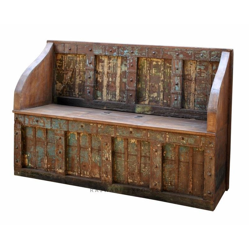 Antique Wooden Box Outdoor Designs Metal Furniture Rajwadi