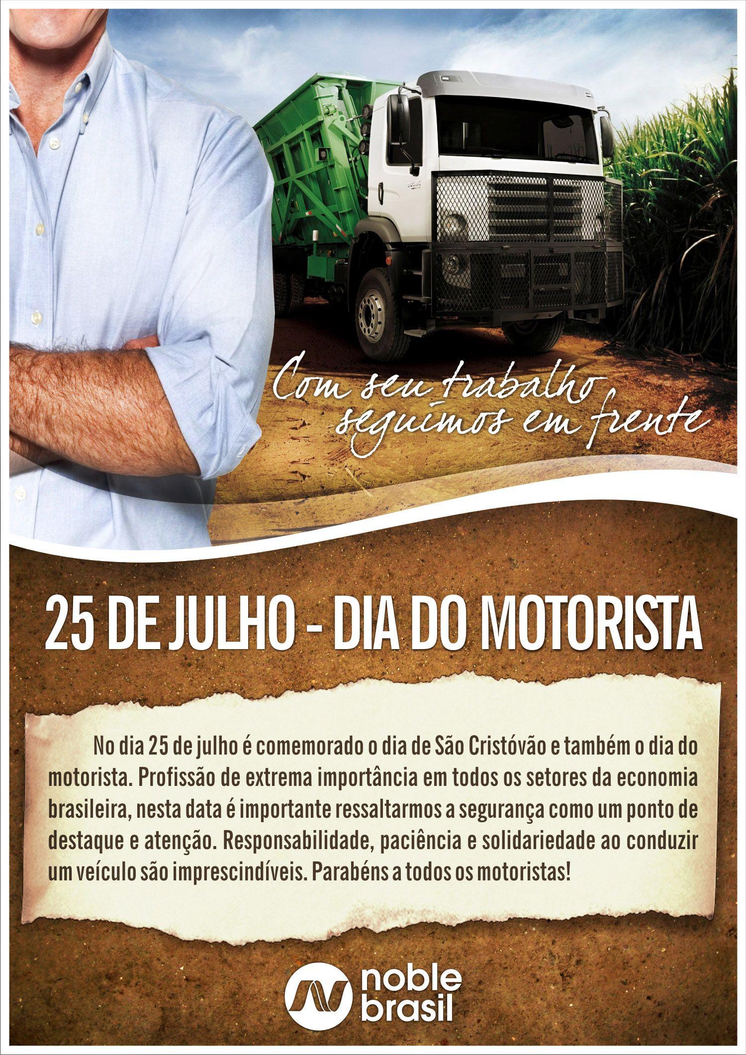 25 De Julho Dia Do Motorista Dia De São Cristóvão 25 De