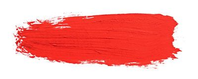 Red Stroke Of The Paint Brush Digital Graphics Art Painting Light Background Images