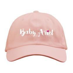 93dc4350 Logo Pink Dad Hat | Ariel's merch❤ | Baby ariel, Ariel, Baby