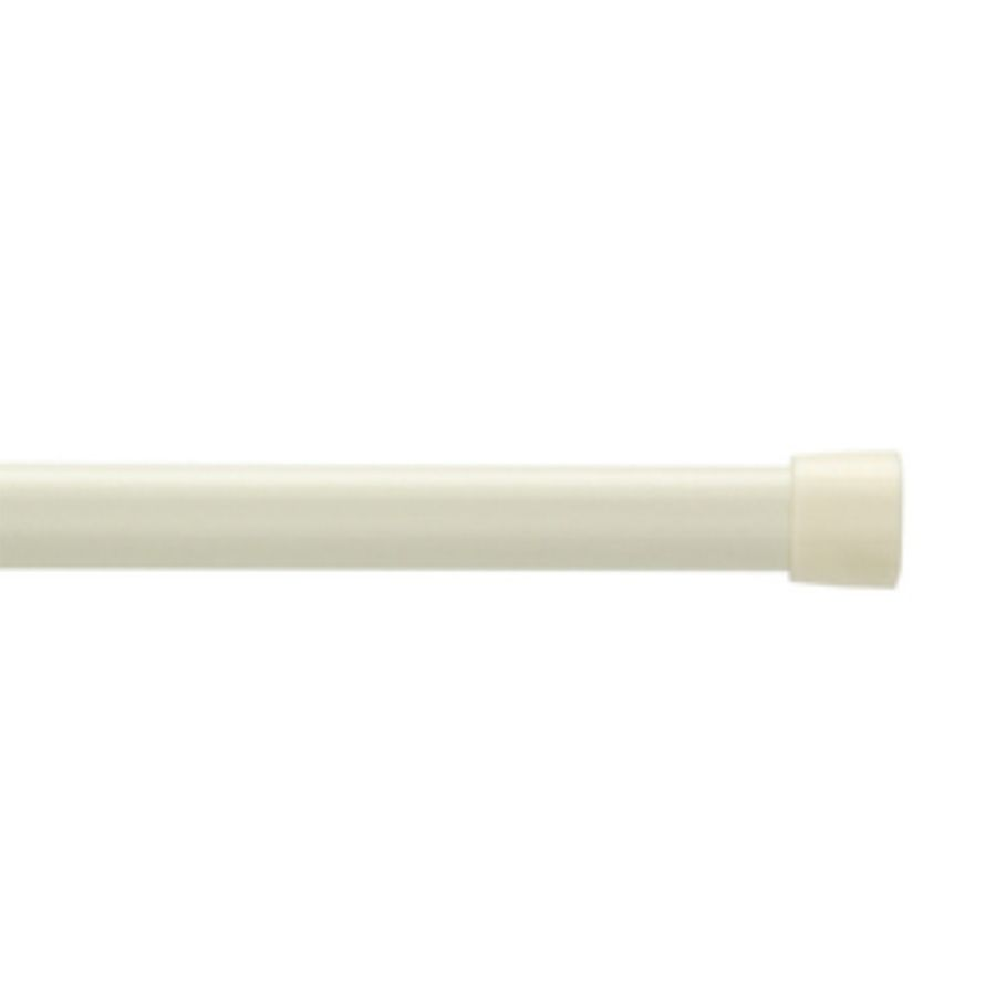 Project Source 48 In To 84 In White Tension Curtain Rod Curtain Rods Lowes Home Improvements Curtains