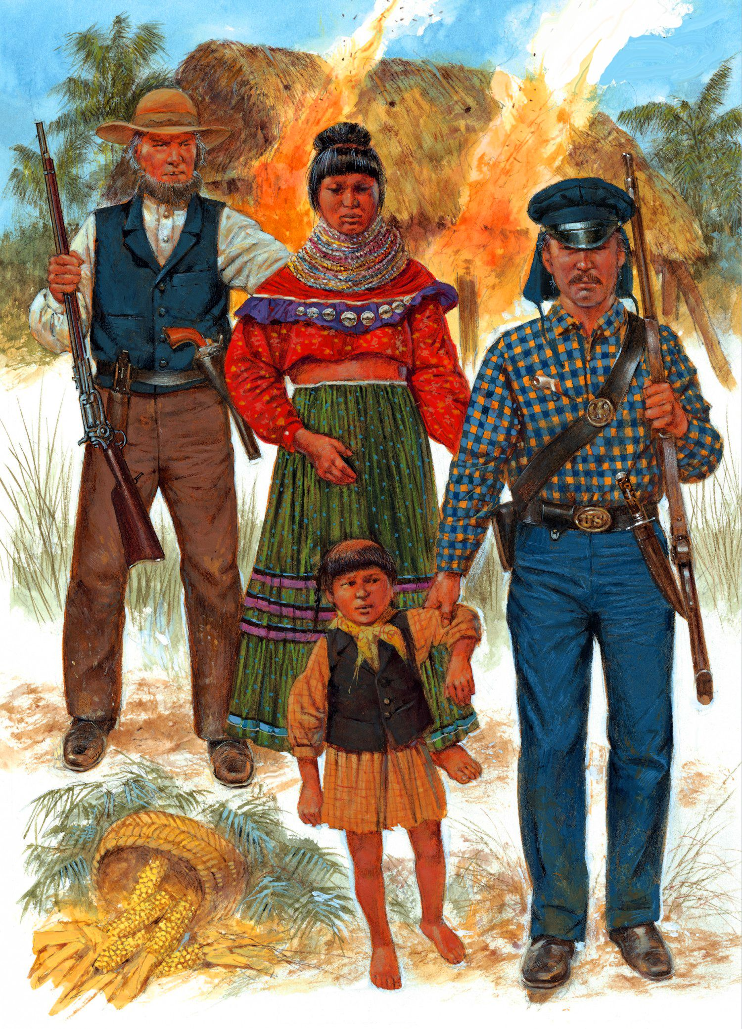 the history of the seminole indians during the colonial period in america Magical history tour native and colonial america people may take the native americans' side and believe the tribes who kept them alive during the.