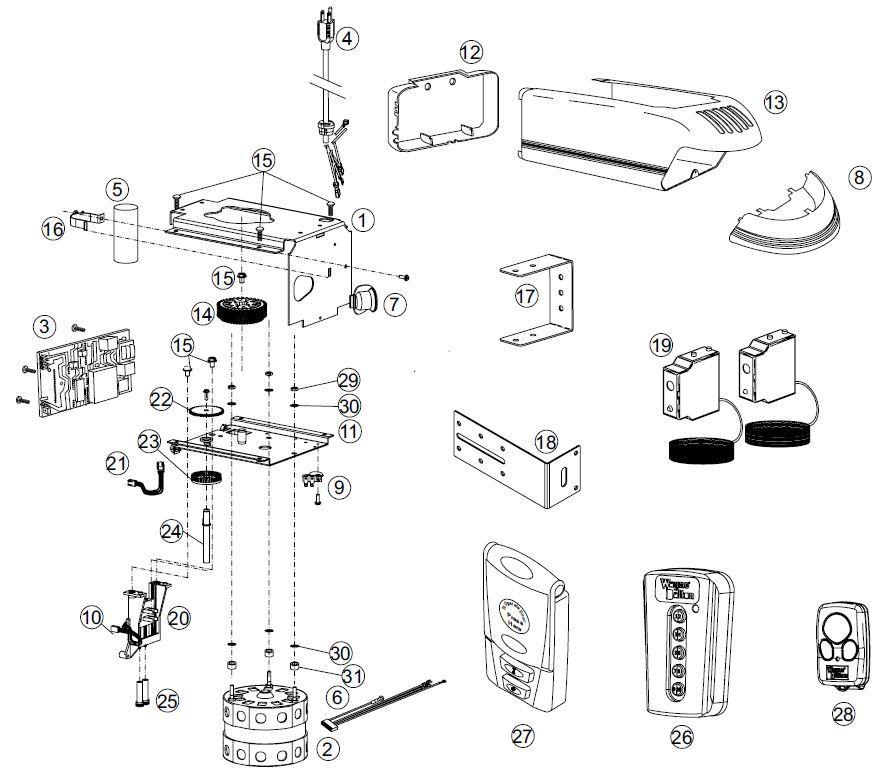 Prodrive Opener Assembly Breakdown