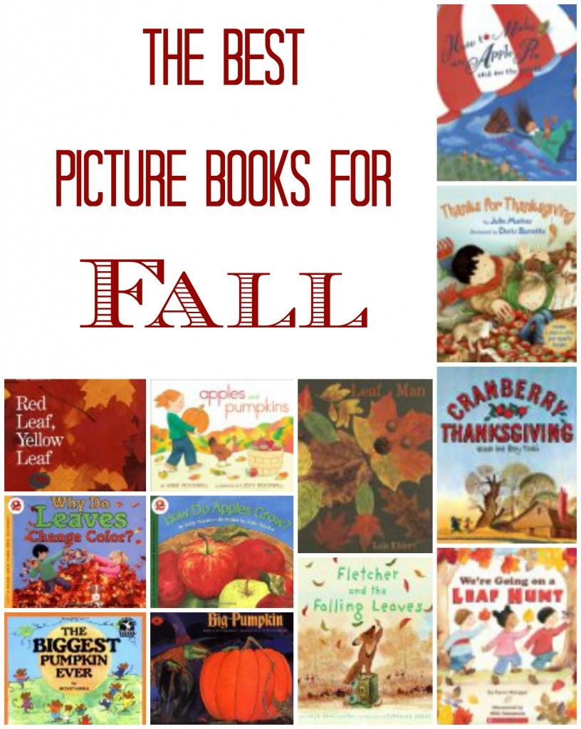 Best Children's Picture Books for Fall | Breakfast ...