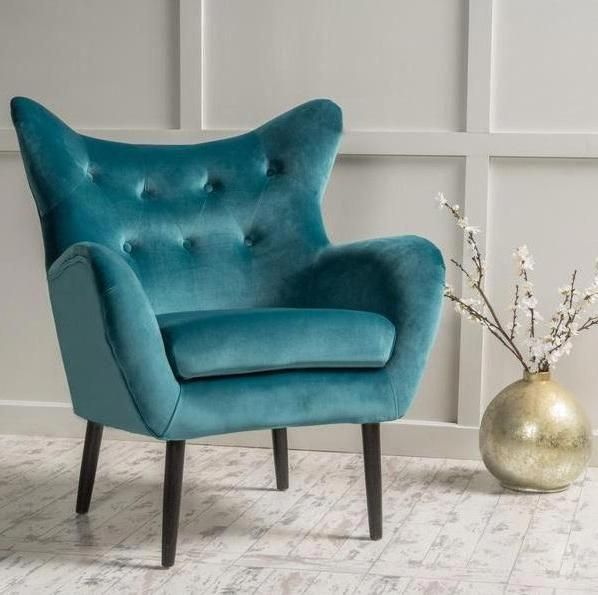 Swell Peck Velvet Armed Accent Chair In 2019 Accent Chairs Onthecornerstone Fun Painted Chair Ideas Images Onthecornerstoneorg