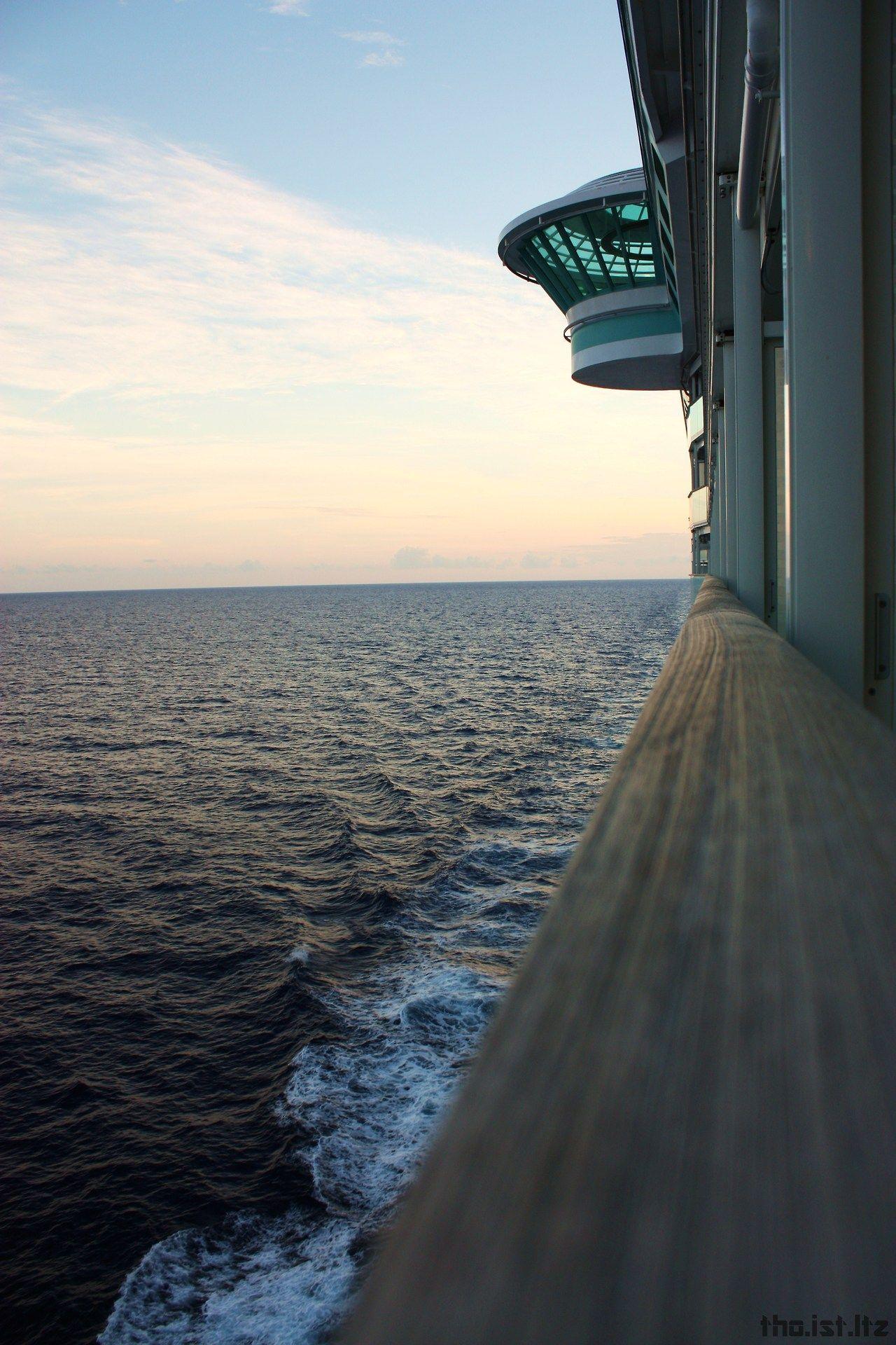 Sunset on Liberty of the Seas.