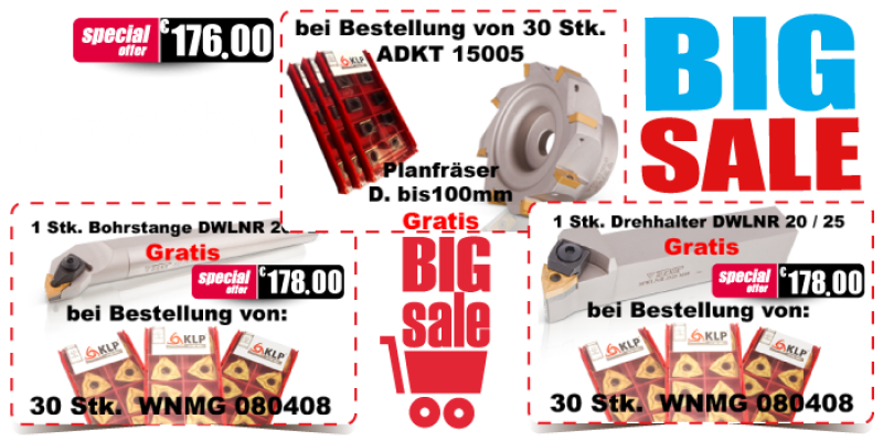 BIG Sale Bei Germania CNC GmbH