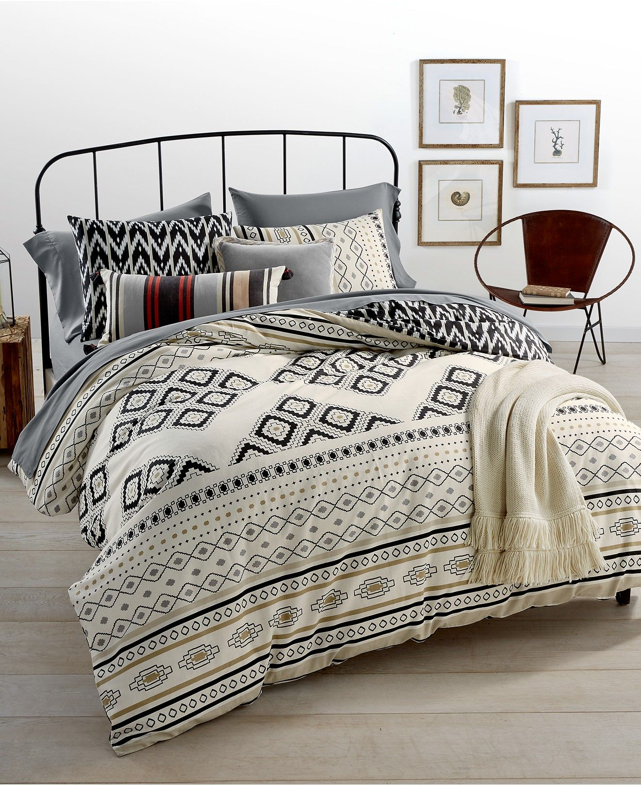 Whim by Martha Stewart Collection Nomad Reversible Bedding