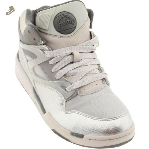 2f1a2c935e9 Reebok Pump Omni Lite Auduet Silver Edition Sneakers (9.5) - Reebok sneakers  for women ( Amazon Partner-Link)
