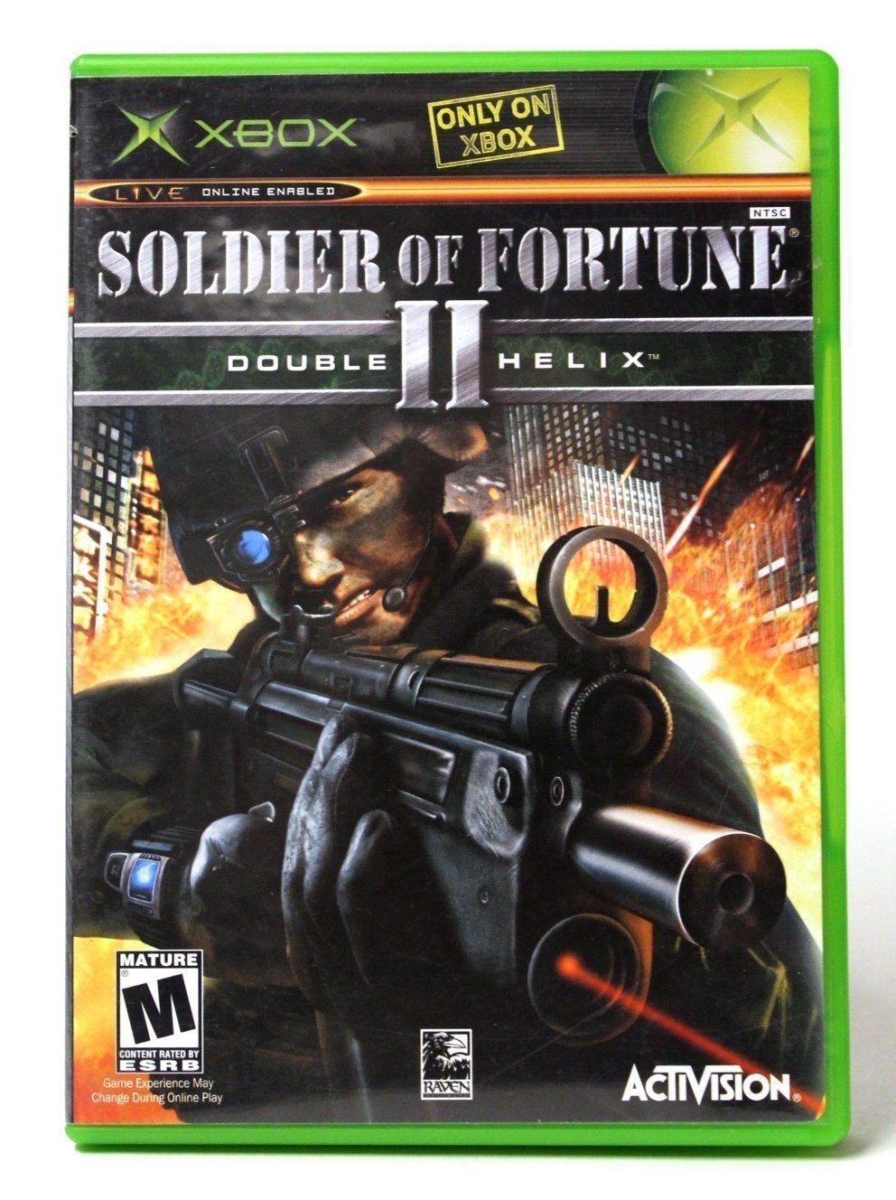Soldier Of Fortune 2 Double Helix Xbox Double Helix Soldier