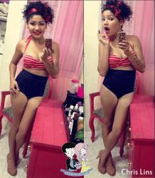 BIQUÍNI CINTURA ALTA VINTAGE HOT PANT S.S. Surpreenda Store - a sua loja retrô .  Modelos exclusivos , a pronta entrega, envio imediato para todo o brasil. #retro #vintage #bikini #pinup #modapraia #biquini #50s #anos50 #beach #verão #red #hotpants #supreendastore #asualojaretroonline #lojaretro #oldschool #navy #sailor #pinups #bikinipinup #polkdots #rockabilly #nautico #modapraia #modapraiaretro #modapraiavintage #modapraiapinup